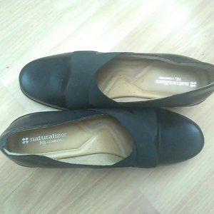 Naturalizer Black Heel Tops in Size 10
